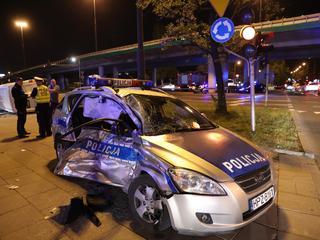 Poważny wypadek kolumny BOR w Warszawie