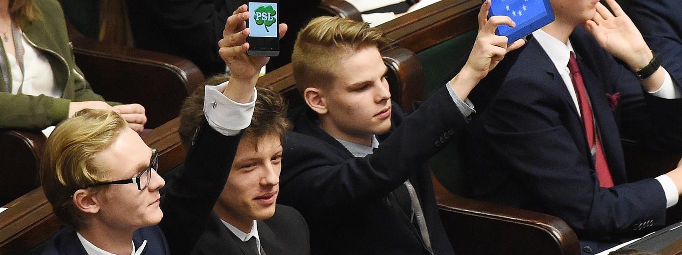 młodzi posłowie