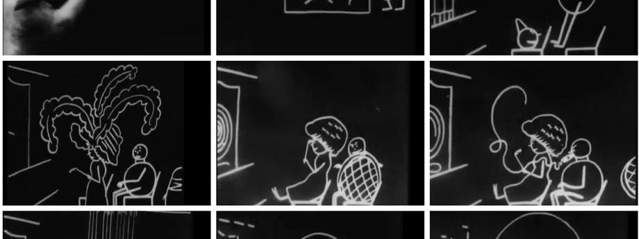Pierwszy film animowany składał się z 700 sfotografowanych rysunków.