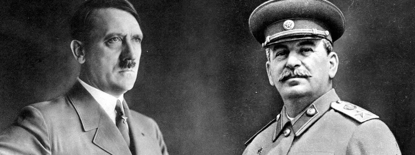 Józef Stalin Adolf Hitler