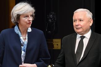 Ze względu na incydent w Londynie spotkanie Kaczyńskiego i May odwołane