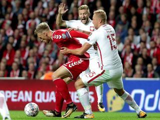 Sromotna porażka w Kopenhadze. Polska przegrywa z Danią 0:4