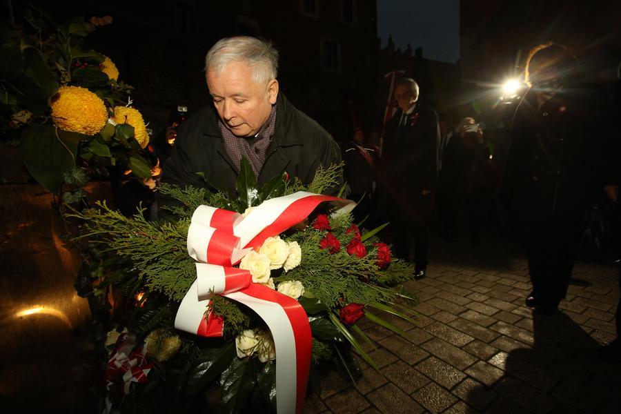 Jarosław Kaczyński wawel kraków obchody