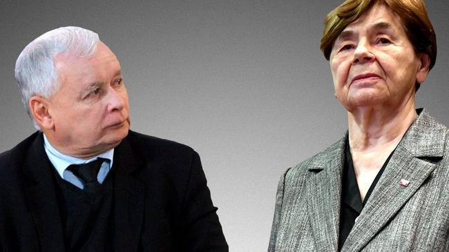 Zofia Romaszewska Jarosław Kaczyński