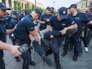 miesięcznica smoleńska smoleńsk Krakowskie Przedmieście