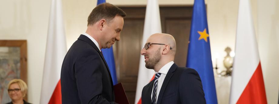 Pałac Prezydencki polityka Andrzej Duda Krzysztof Łapiński