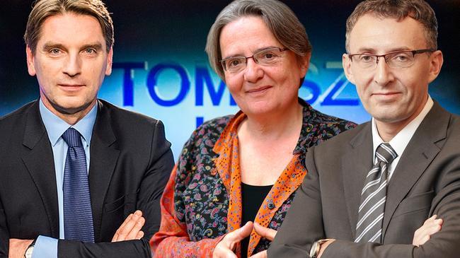 Tomasz Lis program Agnieszka Holland i prof. Marek Chmaj