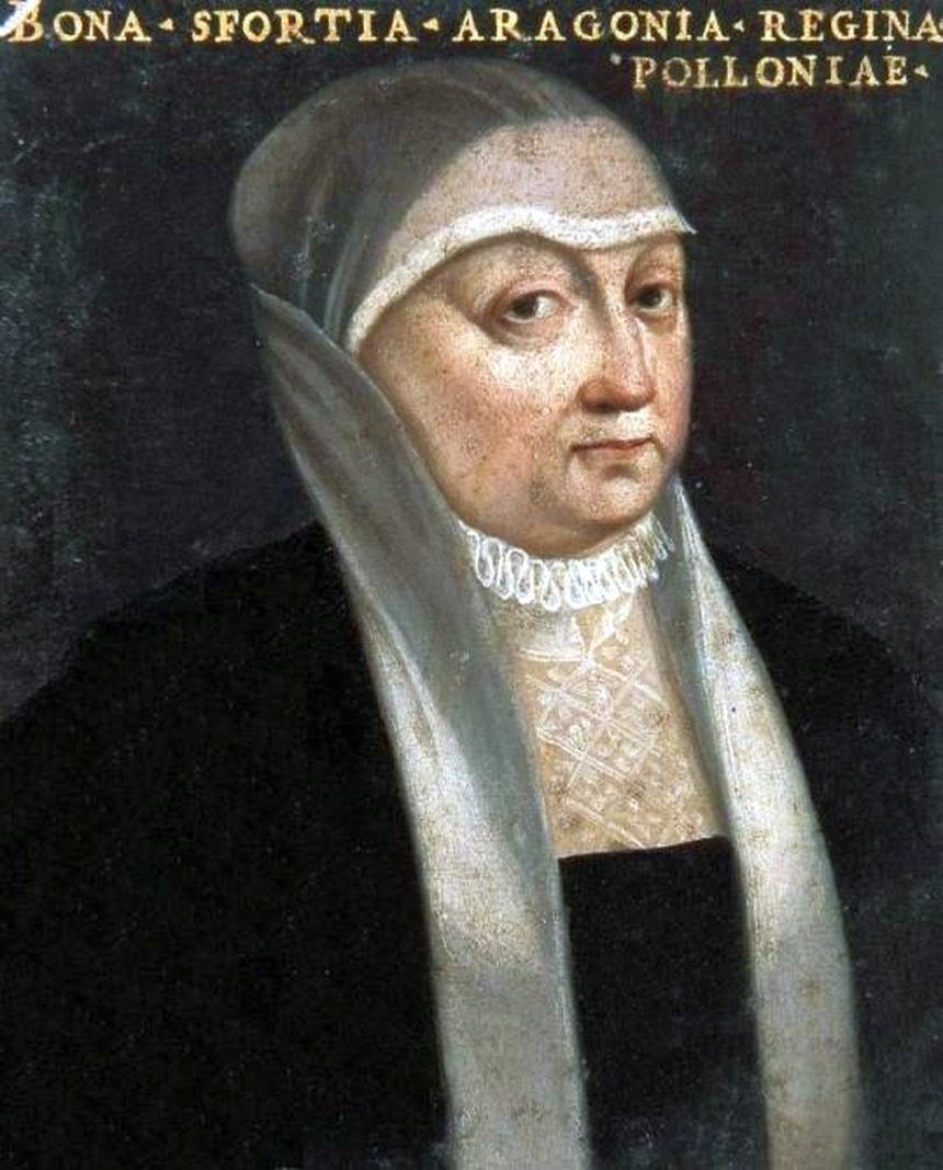 Miniatura Bony Sforzy (1494-1557). Obecnie w zbiorach Muzeum Czartoryskich