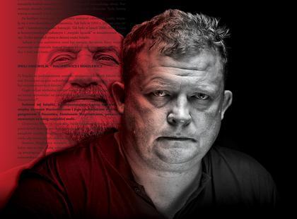Tomasz Piątek Antoni Macierewicz okładka newsweek 38/2017