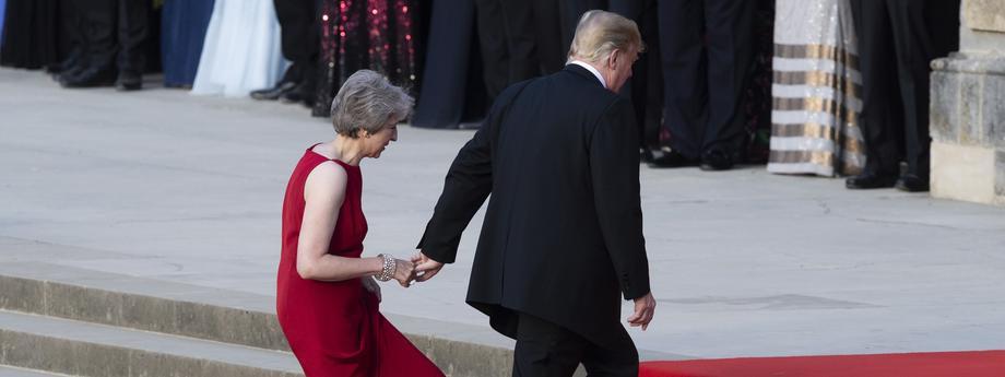 US President Trump visits United Kingdom