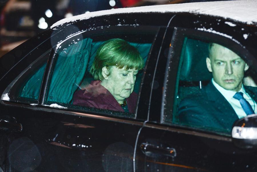 Poland: Merkel-Kaczynski meeting in Warsaw