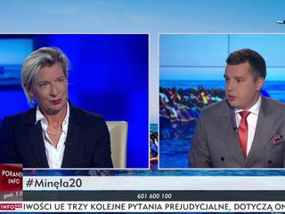 Katie Hopkins Michał Rachoń TVP