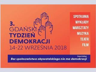 Rusza trzecia edycja Gdańskiego Tygodnia Demokracji