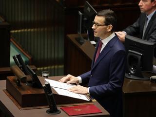 Rząd Morawieckiego z wotum zaufania. Kto go poparł?