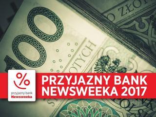 """Ranking Przyjazny Bank """"Newsweeka"""" 2017. Poznaj zwycięzców!"""