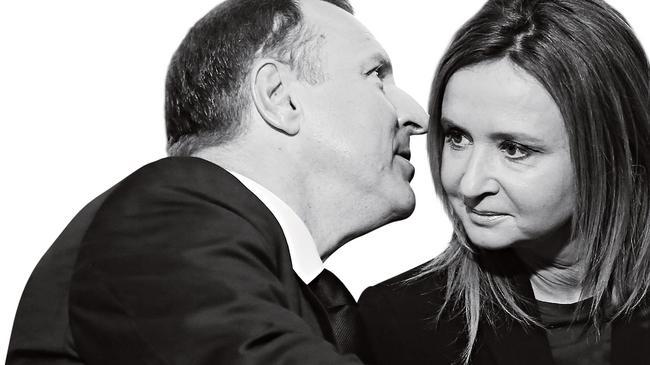 GPrezes TVP Jacek Kurski z żoną Joanną.