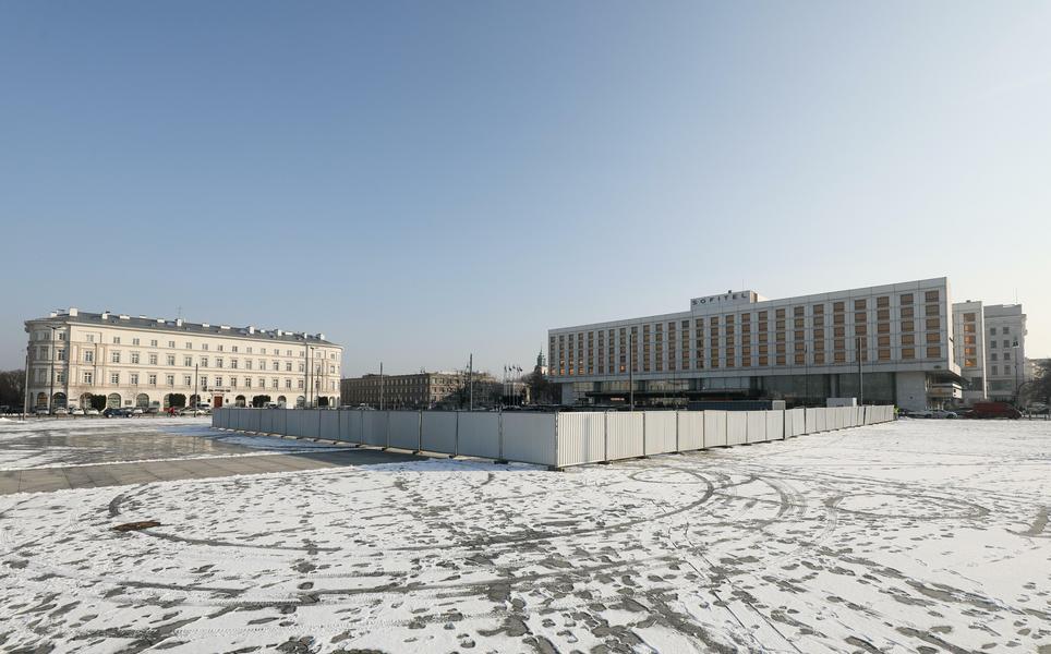 Budowa Pomnik Ofiar Tragedii Smolenskiej