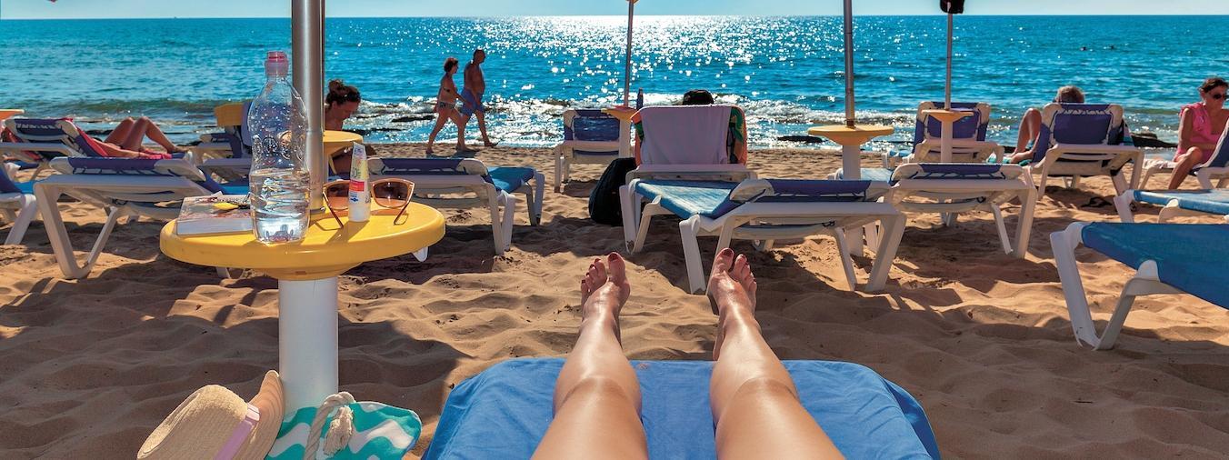 urlop, wakacje, plaża