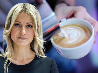 Magdalena Ogórek wypomina rezydentom picie... kawy latte