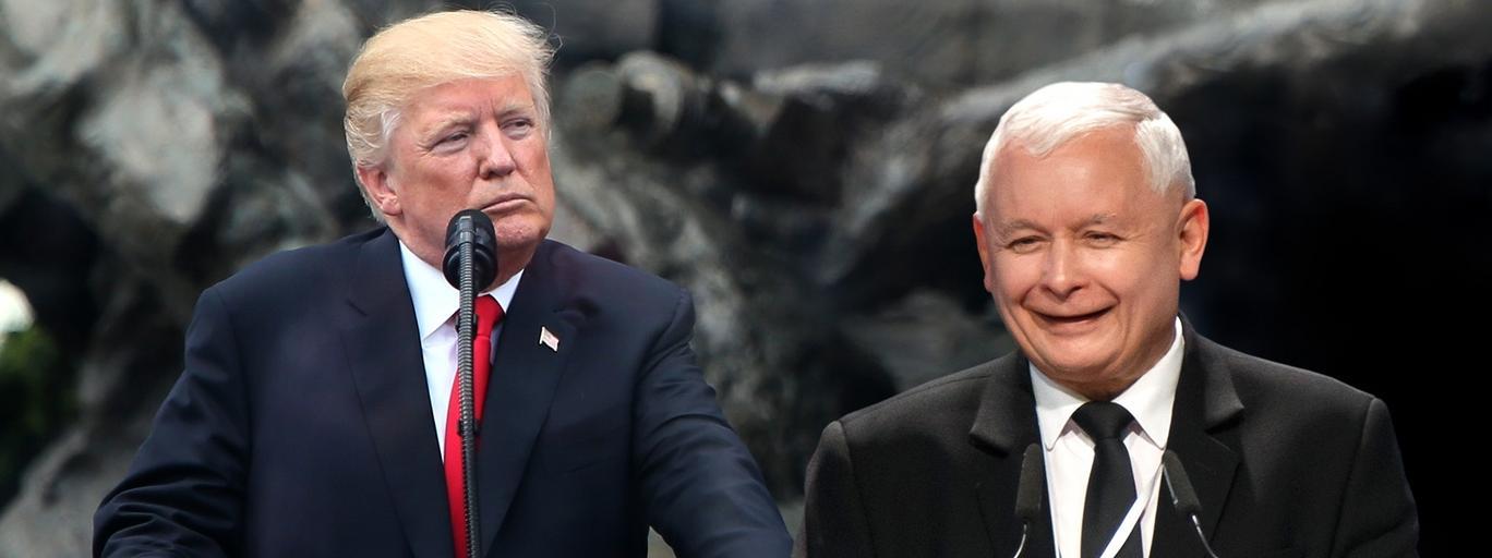 Donald Trump, Jarosław Kaczyński