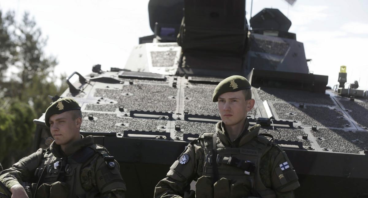 żołnierze armia fińska Finlandia