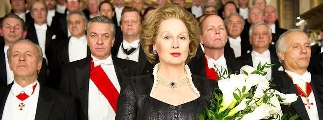 Meryl Streep jako Margaret Tatcher