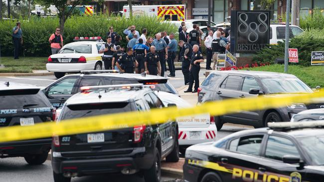 Strzelanina w Annapolis.
