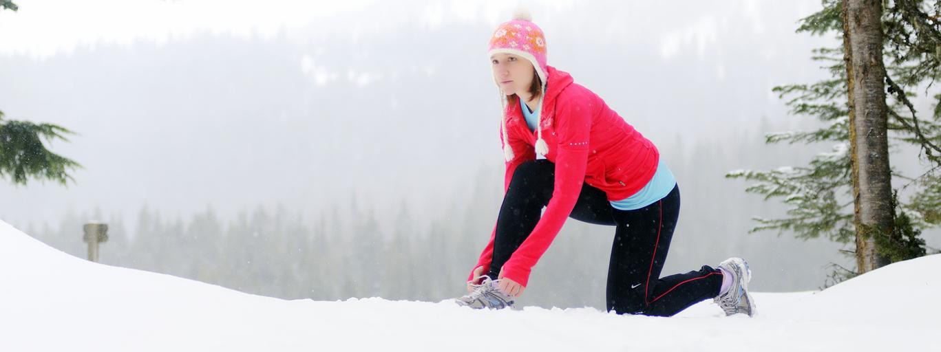 biegnie, zima