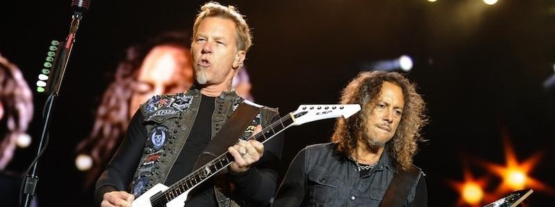 Metallica: James Hetfield i Kirk Hammett