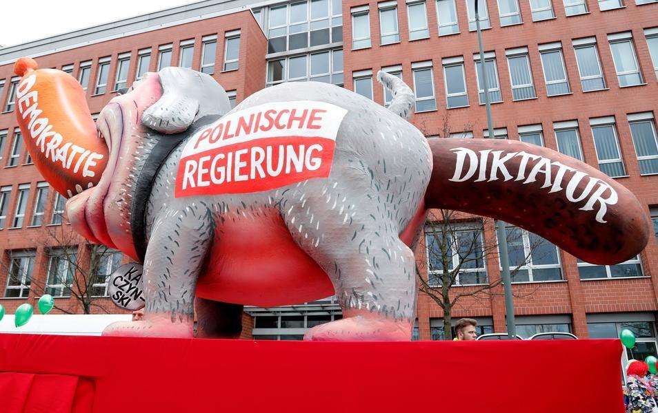 Niemcy Duesseldorf karnawał
