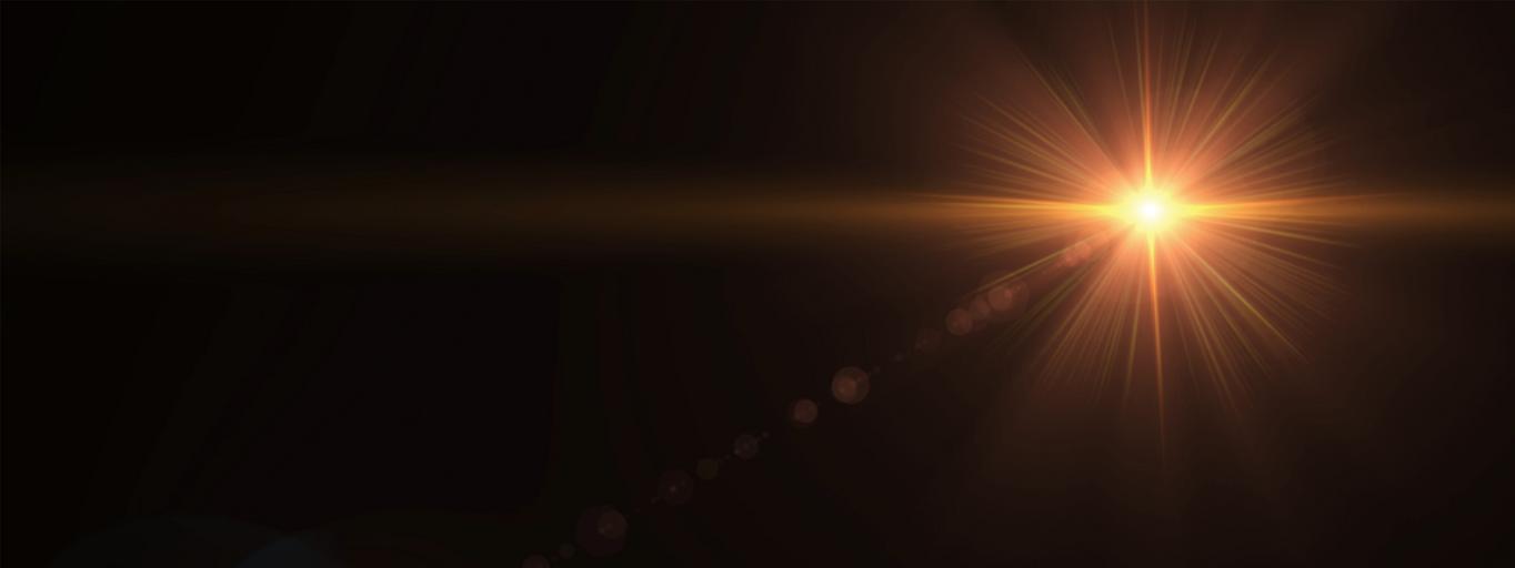 słońce światło ciemność wszechświat kosmos