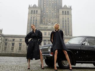 """Czarna Wołga na okładce pierwszego numeru polskiego """"Vogue"""""""