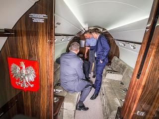 Dywaniki i meble wybierała do niego Beata Kempa. Oto nowe samoloty polskich VIP-ów