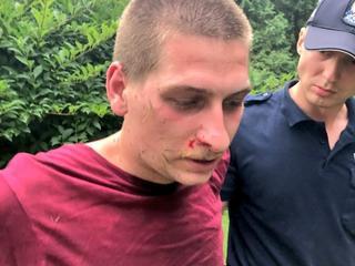 Policja aresztowała cztery osoby, które protestowały przed Sejmem