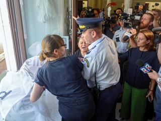 Przepychanki w Sejmie. Interweniowała Straż Marszałkowska