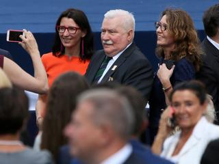 Wałęsa komentuje gwizdy podczas przemówienia Trumpa. Gdyby nie to chamstwo, to...