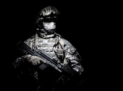najemnik żołnierz
