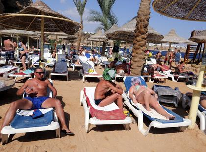 turyści Sharm el-Sheikh egipt