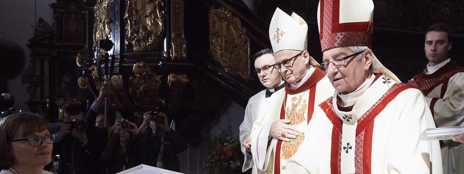 abp Sławoj Leszek Głódź, bp Wiesław Mering