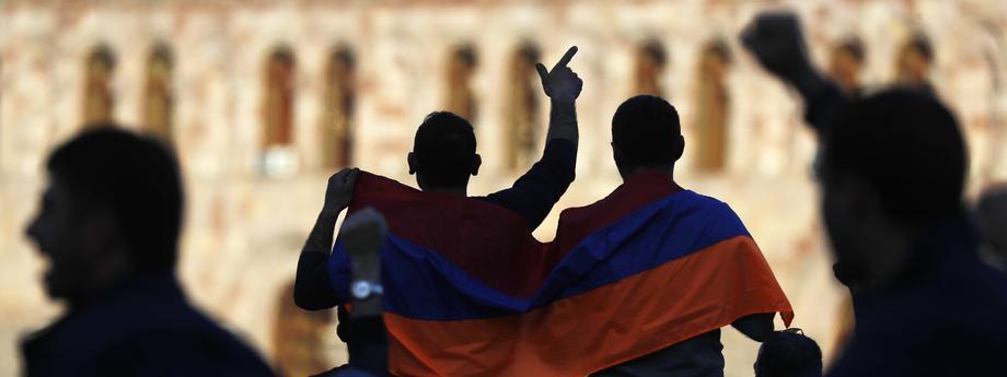 Situation in Yerevan, Armenia, as Prime Minister Sargsyan announces his resignation