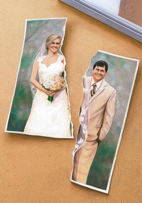 Małżeństwo, para, rozwód