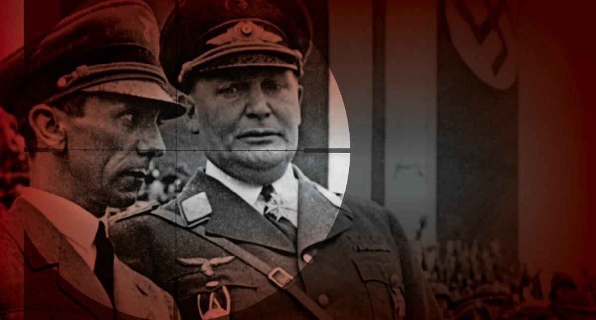 Joseph Goebbels i Hermann Göring