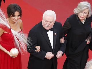 Wałęsa w Cannes. Nie mogę uwierzyć, że to się dzieje. Cisza jak w kościele