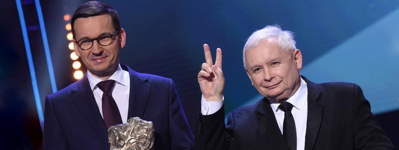 Mateusz Morawiecki Jarosław Kaczyński