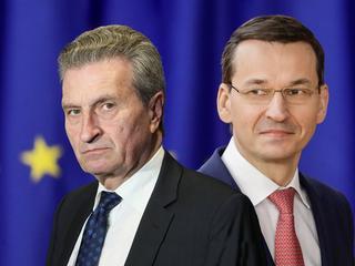 """Unijny komisarz dla """"Newsweeka"""": Polska nadal niewiele zrobiła, by dogadać się z Brukselą"""