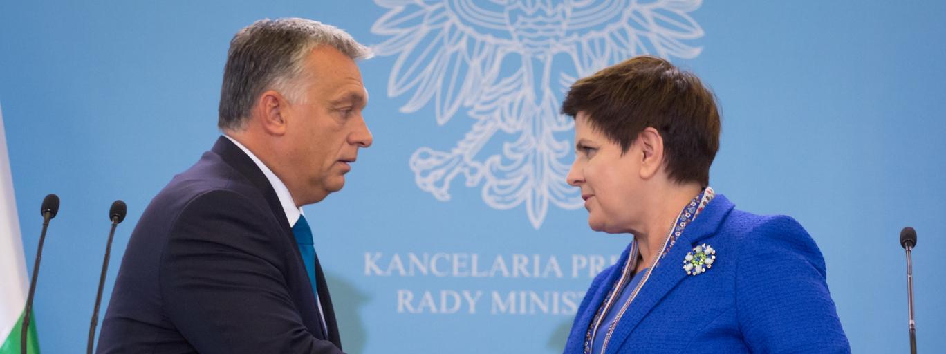 Wizyta premiera Wegier Viktora Orbana w Polsce