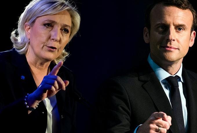 Emmanuel Macron i Marine Le Pen w drugiej turze. Częściowe wyniki wyborów we Francji [NA ŻYWO]