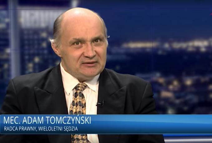 Prorządowe media chętnie zapraszają do siebie mecenasa Tomczyńskiego. Dlaczego?