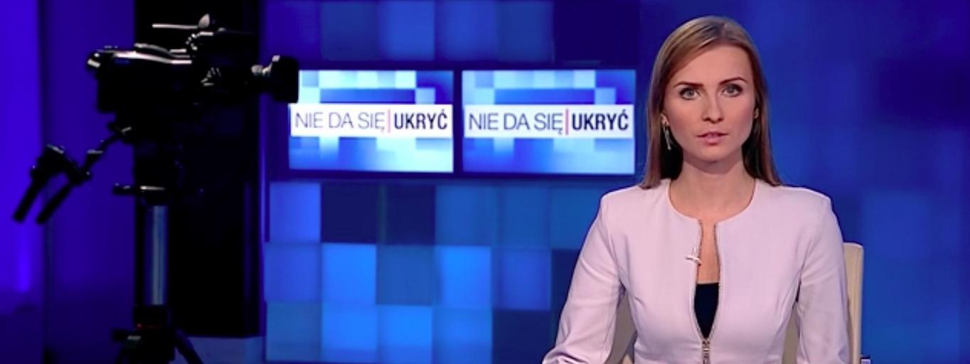 Ewa Bugała TVP Info Nie da się ukryć media telewizja dziennikarstwo TVP