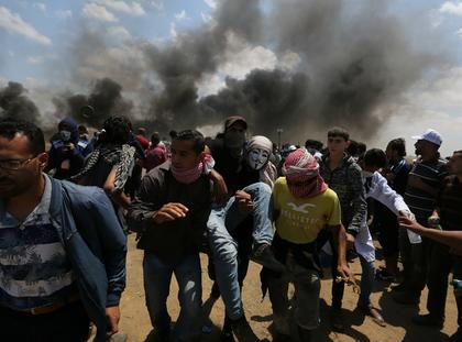 Protesty Strefa Gazy Izrael Palestyna ambasada